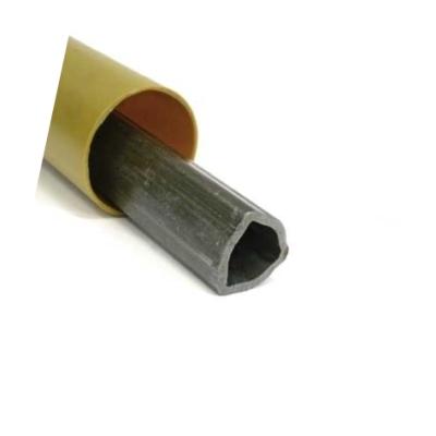 Кардан L= 630mm,  триъгълен профил, 482Nm, 6 жлеба, каре 27x74,5