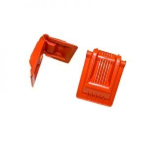 Ъгъл за колан 155x190mm, оранжев