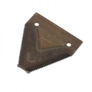 Ножче със зъби BIZON, CLAAS самостоятелно заточване, 76x80x2,5mm, Ф 5,75mm