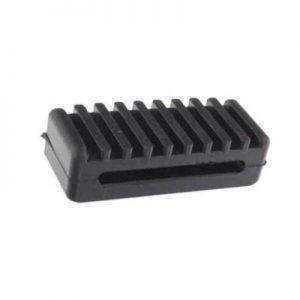 Плочка гумена опорна за колан, 80x32x22mm