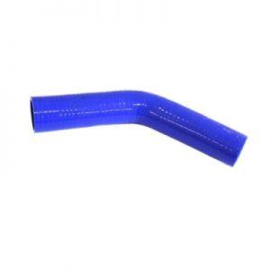 Коляно силиконово Ф 8mm, ъгъл 135°, L = 150x150mm