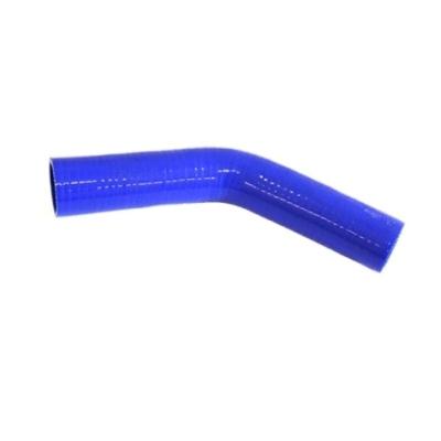 Коляно силиконово Ф 89mm, ъгъл 135°, L=150x150mm