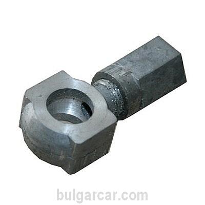 Накрайник маркуч с гайка МТЗ, алуминий